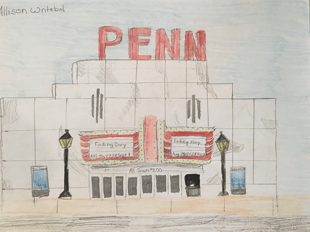 penn theatre drawing alison