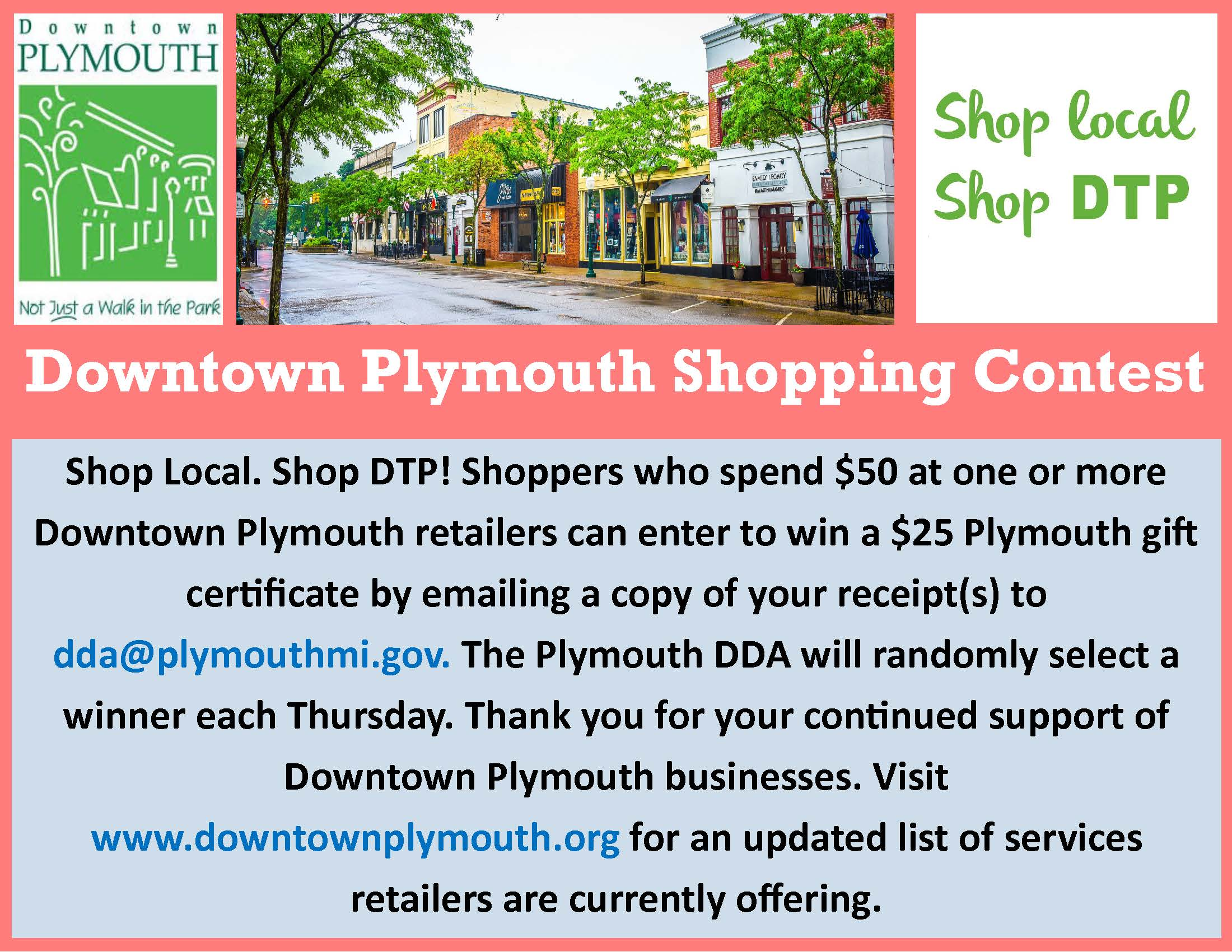 Downtown Plymouth Retail Contest version 3