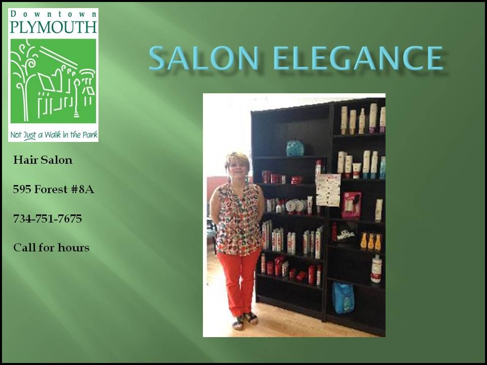 Salon Elegance web