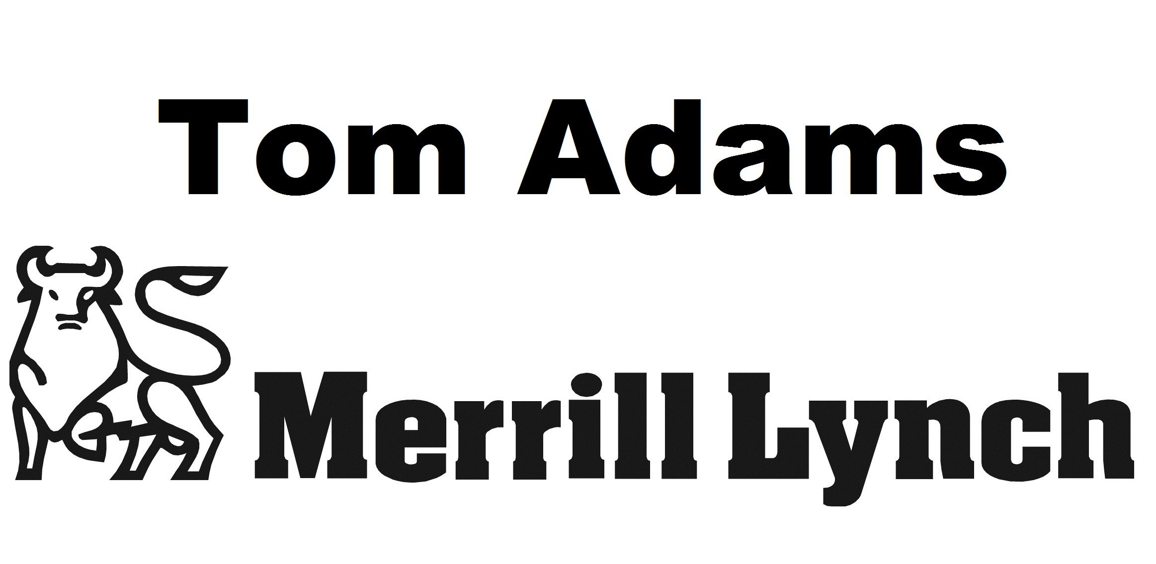 merril lynch tom adams